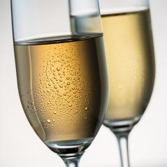 cold champagne glasses with dew- Stock Photo or Stock Video of rcfotostock | RC-Photo-Stock