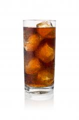 cold fresh cola in a glass with ice cubes- Stock Photo or Stock Video of rcfotostock | RC-Photo-Stock