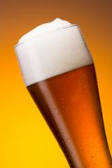 cold german wheat beer in a glass  : Stock Photo or Stock Video Download rcfotostock photos, images and assets rcfotostock | RC-Photo-Stock.: