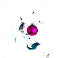 colliding christmas balls- Stock Photo or Stock Video of rcfotostock | RC-Photo-Stock