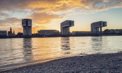 Cologne - Crane Houses- Stock Photo or Stock Video of rcfotostock | RC-Photo-Stock