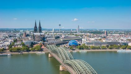 Cologne at summer- Stock Photo or Stock Video of rcfotostock | RC-Photo-Stock