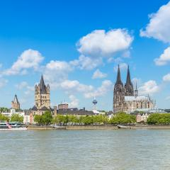 Cologne cathedral and groos st. martin church- Stock Photo or Stock Video of rcfotostock | RC-Photo-Stock