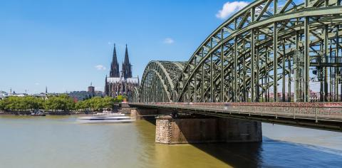 Cologne cathedral and Hohenzollern bridge - Stock Photo or Stock Video of rcfotostock | RC-Photo-Stock