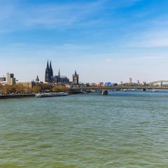 Cologne cathedral at spring- Stock Photo or Stock Video of rcfotostock | RC-Photo-Stock