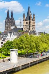 cologne cathedral at summer- Stock Photo or Stock Video of rcfotostock | RC-Photo-Stock
