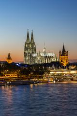 Cologne Cathedral at sunset : Stock Photo or Stock Video Download rcfotostock photos, images and assets rcfotostock | RC-Photo-Stock.: