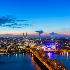 cologne cathedral at sunset- Stock Photo or Stock Video of rcfotostock | RC-Photo-Stock