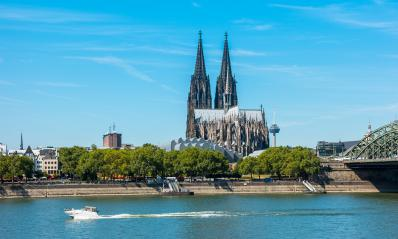 cologne cathedral Germany at the Rhine River- Stock Photo or Stock Video of rcfotostock | RC-Photo-Stock