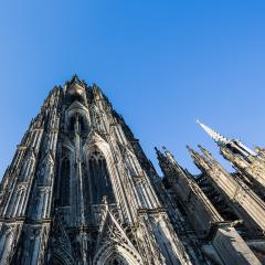 cologne cathedral side view- Stock Photo or Stock Video of rcfotostock | RC-Photo-Stock