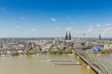 cologne city Aerial view- Stock Photo or Stock Video of rcfotostock | RC-Photo-Stock