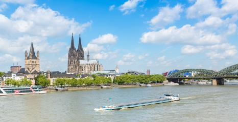 cologne city at spring- Stock Photo or Stock Video of rcfotostock | RC-Photo-Stock