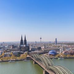Cologne city in germany at spring- Stock Photo or Stock Video of rcfotostock | RC-Photo-Stock