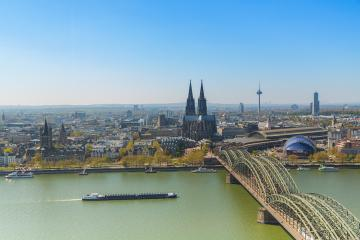 Cologne city in North Rhine-Westphalia- Stock Photo or Stock Video of rcfotostock | RC-Photo-Stock