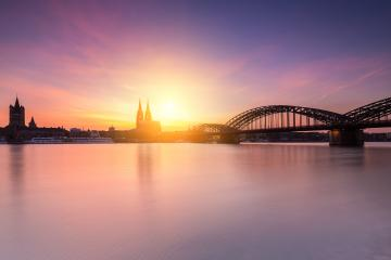 cologne city Silhouette- Stock Photo or Stock Video of rcfotostock | RC-Photo-Stock