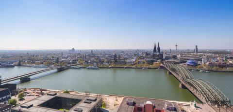 Cologne city sklyine panoramic view : Stock Photo or Stock Video Download rcfotostock photos, images and assets rcfotostock | RC-Photo-Stock.: