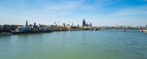 Cologne City skyline at the rhine : Stock Photo or Stock Video Download rcfotostock photos, images and assets rcfotostock | RC-Photo-Stock.:
