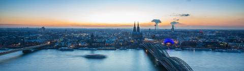 Cologne city skyline panorama - Stock Photo or Stock Video of rcfotostock | RC-Photo-Stock