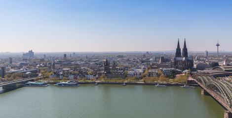 Cologne city skyline panorama- Stock Photo or Stock Video of rcfotostock | RC-Photo-Stock