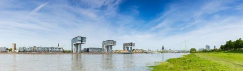 Cologne City Skyline panorama : Stock Photo or Stock Video Download rcfotostock photos, images and assets rcfotostock | RC-Photo-Stock.: