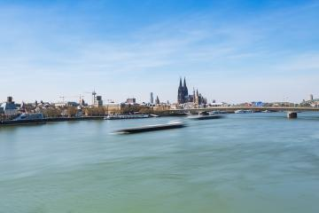 Cologne city view in germany- Stock Photo or Stock Video of rcfotostock | RC-Photo-Stock