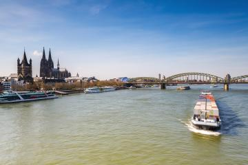 Cologne City with Cathedral and Hohenzollern bridge- Stock Photo or Stock Video of rcfotostock | RC-Photo-Stock