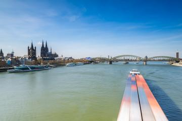 Cologne City with Cathedral at spring- Stock Photo or Stock Video of rcfotostock | RC-Photo-Stock