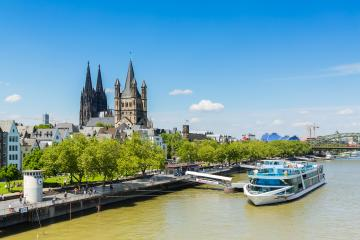 cologne city with Cologne cathedral - Stock Photo or Stock Video of rcfotostock | RC-Photo-Stock