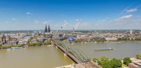Cologne cityscape skyline- Stock Photo or Stock Video of rcfotostock | RC-Photo-Stock