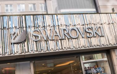 COLOGNE, GERMANY OCTOBER, 2017:  Swarovski store front with Logo. Swarovski is an Austrian producer of crystal jewellery and accessories headquartered in Wattens, Austria. : Stock Photo or Stock Video Download rcfotostock photos, images and assets rcfotostock | RC-Photo-Stock.: