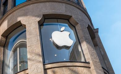 COLOGNE, GERMANY OCTOBER, 2017: Apple logo on a Apple store. Apple is the multinational technology company headquartered in Cupertino, California and sells consumer electronics products.- Stock Photo or Stock Video of rcfotostock | RC-Photo-Stock