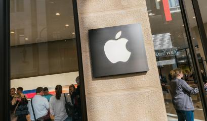 COLOGNE, GERMANY OCTOBER, 2017: Apple Store brand logo on store front. Apple is the multinational technology company headquartered in Cupertino, California and sells consumer electronics products.- Stock Photo or Stock Video of rcfotostock | RC-Photo-Stock