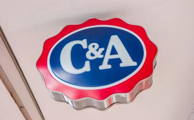 COLOGNE, GERMANY OCTOBER, 2017: C&A store sign. C&A is an international Dutch chain of fashion retail clothing stores. It has retail stores in many countries in Europe, Central and South America- Stock Photo or Stock Video of rcfotostock | RC-Photo-Stock
