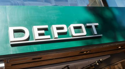 COLOGNE, GERMANY OCTOBER, 2017: DEPOT Decoration Store Sign. DEPOT is a German store for Decoration and home accessories, based in Niedernberg, Germany.- Stock Photo or Stock Video of rcfotostock | RC-Photo-Stock