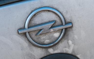 COLOGNE, GERMANY OCTOBER, 2017: Dirty Opel logo on a silver car. Opel AG is a German automobile manufacturer.- Stock Photo or Stock Video of rcfotostock | RC-Photo-Stock