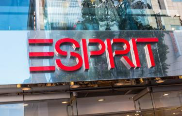 COLOGNE, GERMANY OCTOBER, 2017: Esprit logo on a store front. Esprit is a manufacturer of clothing, footwear, accessories, jewellery and housewares under the Esprit label.- Stock Photo or Stock Video of rcfotostock | RC-Photo-Stock