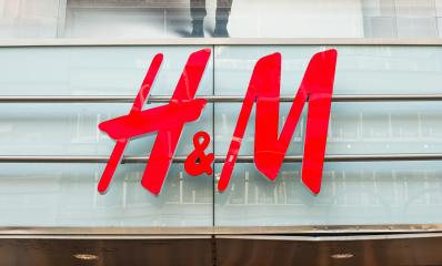 COLOGNE, GERMANY OCTOBER, 2017: H&M logo on a store. H & M Hennes & Mauritz AB is a Swedish multinational retail-clothing company, known for its fast-fashion clothing.- Stock Photo or Stock Video of rcfotostock | RC-Photo-Stock