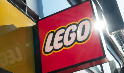 COLOGNE, GERMANY OCTOBER, 2017: Lego logo on a store building. Lego is a line of plastic construction toys that are manufactured by The Lego Group, a privately held company based in Billund, Denmark.- Stock Photo or Stock Video of rcfotostock | RC-Photo-Stock