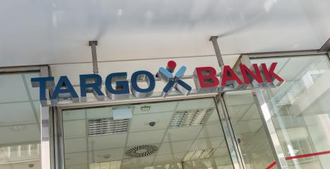 COLOGNE, GERMANY OCTOBER, 2017: Logo of the Targo bank branch. Targobank (formerly Citibank, Germany) is the German retail banking arm of Credit Mutuel. : Stock Photo or Stock Video Download rcfotostock photos, images and assets rcfotostock | RC-Photo-Stock.: