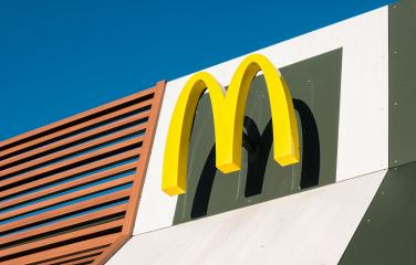 COLOGNE, GERMANY OCTOBER, 2017: McDonald's restauraunt sign. The McDonald's Corporation is the world's largest chain of hamburger fast food restaurants.- Stock Photo or Stock Video of rcfotostock | RC-Photo-Stock