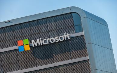 COLOGNE, GERMANY OCTOBER, 2017: Microsoft logo on a building. Microsoft is an international corporation that develops, supports and sells computer software and services worldwide.- Stock Photo or Stock Video of rcfotostock | RC-Photo-Stock