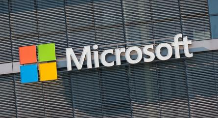 COLOGNE, GERMANY OCTOBER, 2017: Microsoft logo on a wall. Microsoft is an international corporation that develops, supports and sells computer software and services worldwide.- Stock Photo or Stock Video of rcfotostock | RC-Photo-Stock