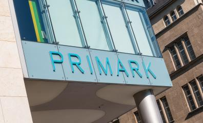 COLOGNE, GERMANY OCTOBER, 2017: Primark store with logo. Primark is an Irish clothing retailer, operating in Austria, Belgium, Germany, Ireland, Portugal, Spain, the Netherlands and the UK.- Stock Photo or Stock Video of rcfotostock | RC-Photo-Stock