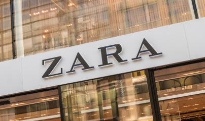 COLOGNE, GERMANY OCTOBER, 2017: Zara logo on a store. Zara is a Spanish clothing and accessories retailer based in Arteixo, Galicia, and founded in 1975 by Amancio Ortega and Rosalia Mera. - Stock Photo or Stock Video of rcfotostock | RC-Photo-Stock