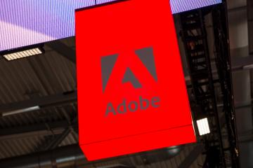COLOGNE, GERMANY SEPTEMBER, 2017: Adobe Logo. Adobe is a multinational software company that produces and sells multimedia and creativity software.- Stock Photo or Stock Video of rcfotostock | RC-Photo-Stock