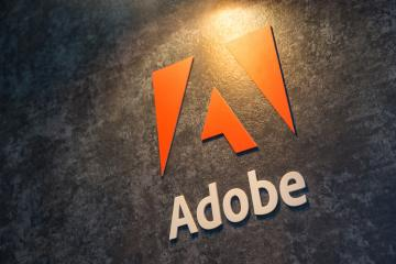COLOGNE, GERMANY SEPTEMBER, 2017: Adobe Systems Logo. Adobe is a multinational software company that produces and sells multimedia and creativity software.- Stock Photo or Stock Video of rcfotostock | RC-Photo-Stock