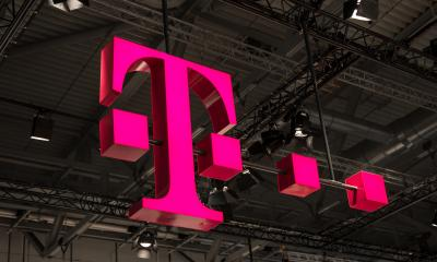 COLOGNE, GERMANY SEPTEMBER, 2017: Logo of Deutsche Telekom. There are around 750 so called