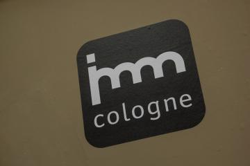 COLOGNE, GERMANY SEPTEMBER, 2019: imm Cologne logo - international exhibition of furniture and interior design : Stock Photo or Stock Video Download rcfotostock photos, images and assets rcfotostock | RC-Photo-Stock.:
