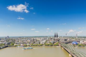 cologne in germany at spring- Stock Photo or Stock Video of rcfotostock | RC-Photo-Stock