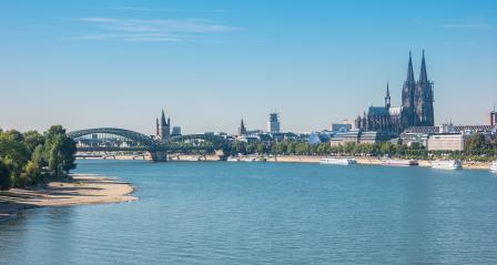 Cologne old city view on a sunny day- Stock Photo or Stock Video of rcfotostock | RC-Photo-Stock